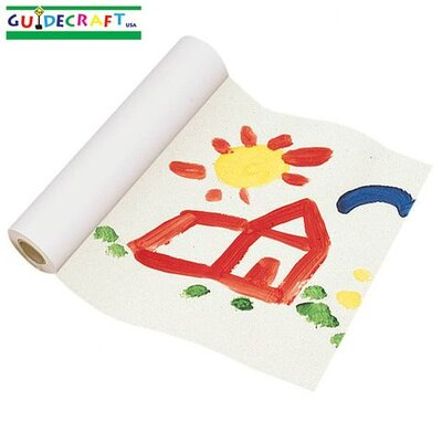Guidecraft Replacement Paper Roll for Floor Easel