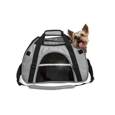 """Pet Carrier Color: Gray, Size: Large (12"""" H x 9"""" W x 18"""" L)"""