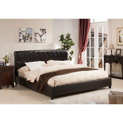 Upholstered Platform Bed Twin Size
