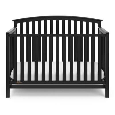 Freeport 4-in-1 Convertible Crib Color: Black