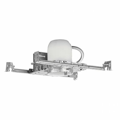"""WAC Lighting Non-IC Shallow New Construction 4"""" Recessed Housing"""