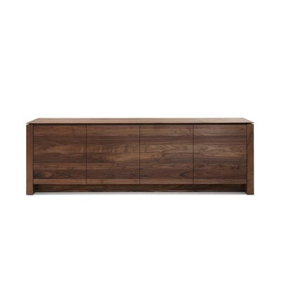 Kluskens Bellagio Wood Panel TV Stand for TVs up to 61""