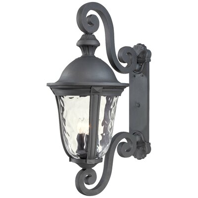 Great Outdoors by Minka Ardmore 3 Light Outdoor Wall Lantern