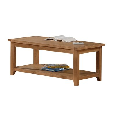 Heartlands Furniture Stirling Coffee Table with Magazine Rack