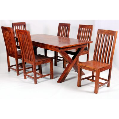 Heartlands Furniture Jaipur Dining Table and 6 Chairs