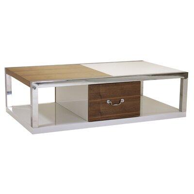 Heartlands Furniture Warwick Coffee Table with Magazine Rack