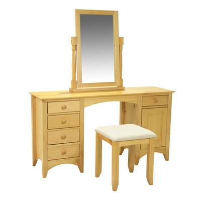 Heartlands Furniture Chelsea 5 Drawer Dressing Table