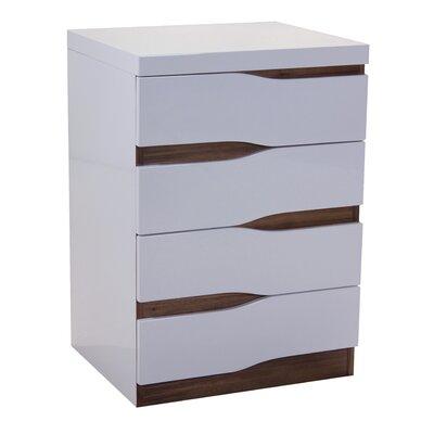 Heartlands Furniture Warwick 4 Drawer Chest