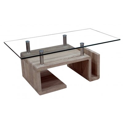 Heartlands Furniture Coffee Table with Magazine Rack