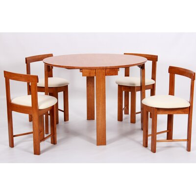 Heartlands Furniture Durham Dining Table and 4 Chairs