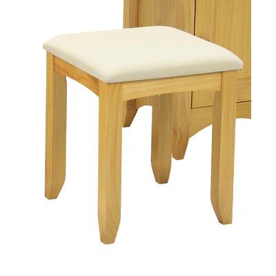 Heartlands Furniture Chelsea Upholstered Dressing Table Stool