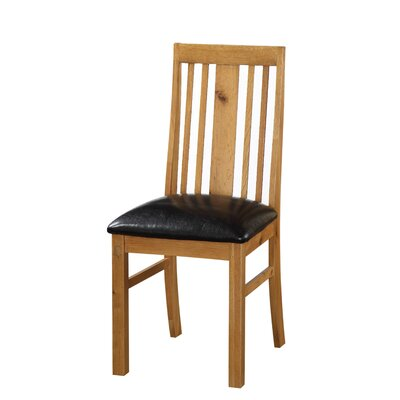 Heartlands Furniture Acorn Solid Oak Upholstered Dining Chair