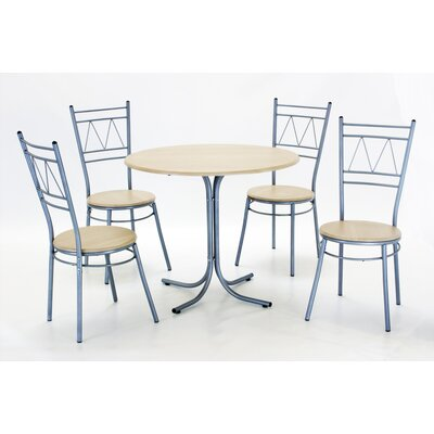 Heartlands Furniture Dining Table and 4 Chairs