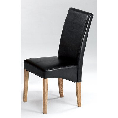 Heartlands Furniture Cyprus Solid Ash Wood Upholstered Dining Chair