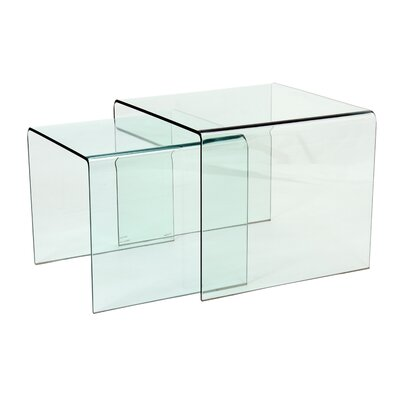 Heartlands Furniture Angola 2 Piece Nest of Tables