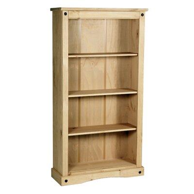 Heartlands Furniture Rustic Corona 150cm Standard Bookcase