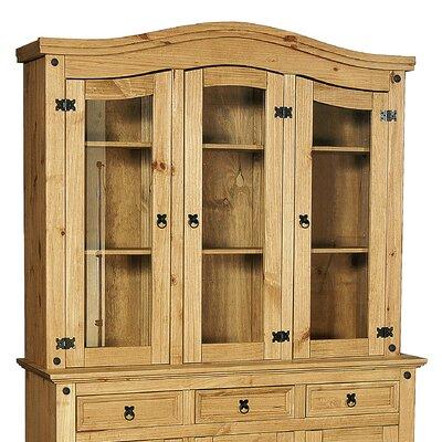 Heartlands Furniture Rustic Corona 3 Door Dresser Top
