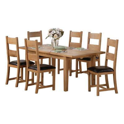 Heartlands Furniture Stirling Extendable Dining Table
