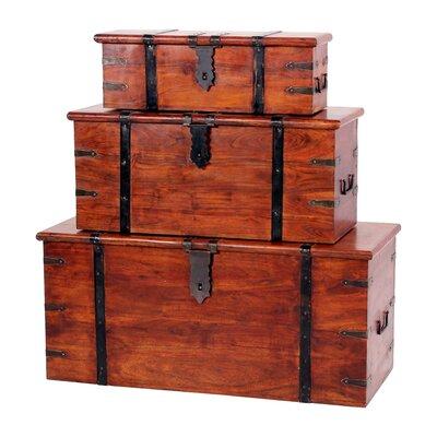 Heartlands Furniture Jaipur 3 Piece Trunk Set