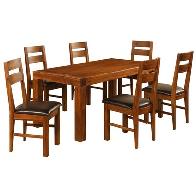 Heartlands Furniture Monaco Dining Table and 6 Chairs