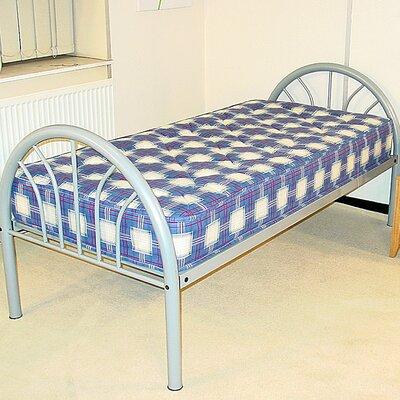 Heartlands Furniture Elegant Single Wrought Iron Bed