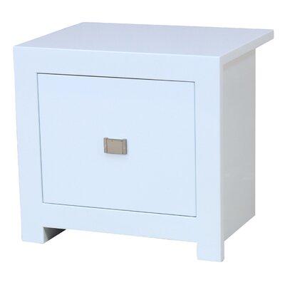 Heartlands Furniture Sokoto 1 Drawer Bedside Table