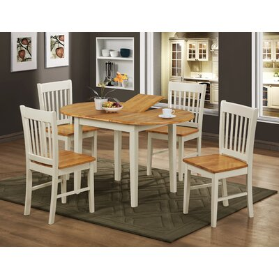 Heartlands Furniture Stacy Extendable Dining Table and 4 Chairs
