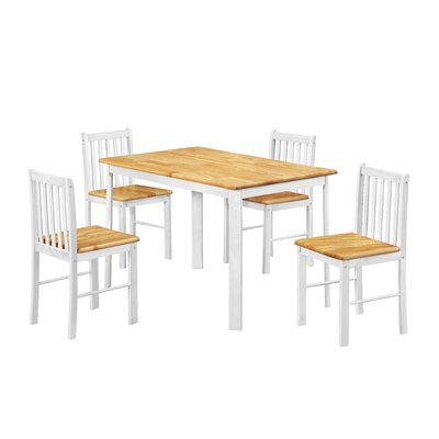 Heartlands Furniture Sheldon Dining Table and 4 Chairs
