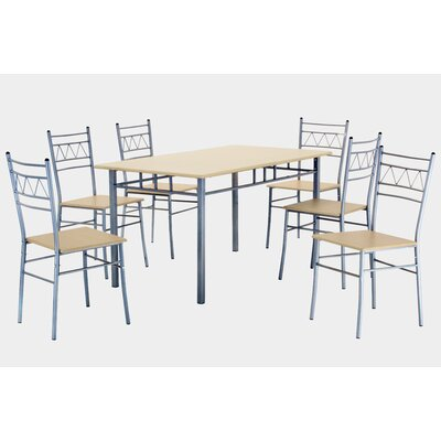 Heartlands Furniture Oslo Dining Table and 6 Chairs