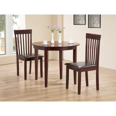 Heartlands Furniture Extendable Dining Table and 2 Chairs