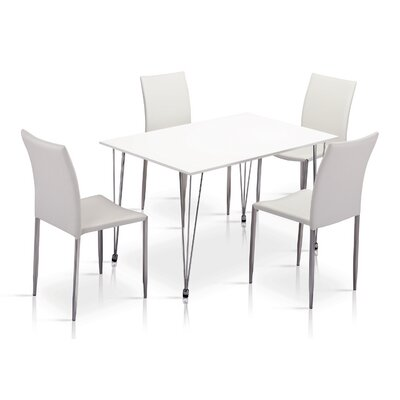 Heartlands Furniture Iris Dining Table and 4 Chairs