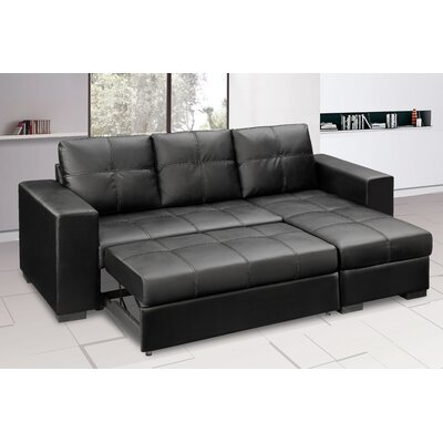 Heartlands Furniture Gianni Chaise Sofa Bed
