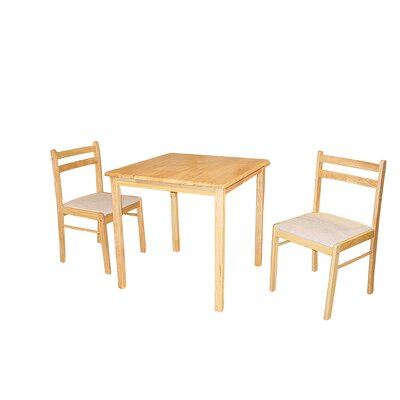 Heartlands Furniture Dinnite Dining Table and 2 Chairs