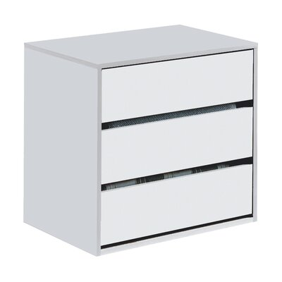 Heartlands Furniture Arctic 3 Drawer Chest