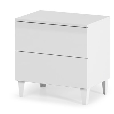 Heartlands Furniture Arctic 2 Drawer Chest of Drawers