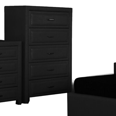 Heartlands Furniture Longmore 5 Drawer Chest of Drawers