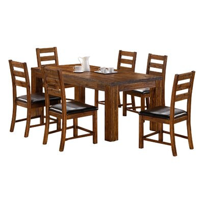 Heartlands Furniture Martello Dining Table and 6 Chairs