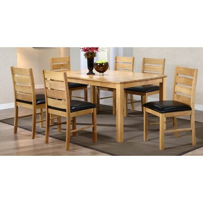 Heartlands Furniture Fairmont Dining Table and 6 Chairs