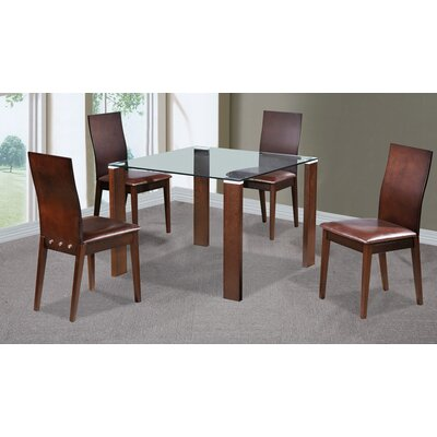 Heartlands Furniture Omega Dining Table and 4 Chairs
