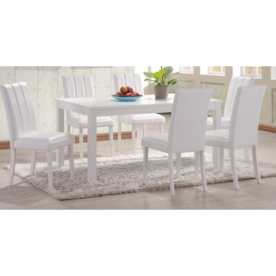 Heartlands Furniture Trogon Dining Table and 4 Chairs