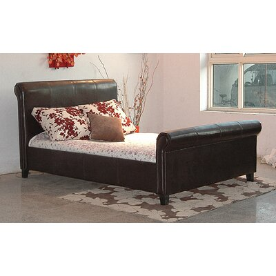 Heartlands Furniture Henley Upholstered Sleigh Bed