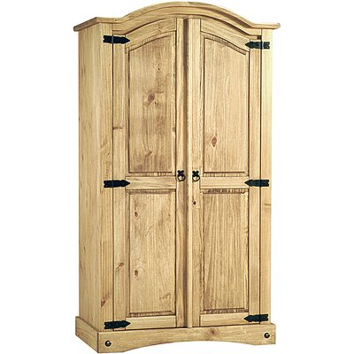 Heartlands Furniture Rustic Corona 2 Door Wardrobe