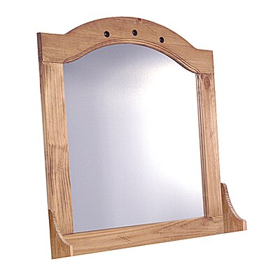 Heartlands Furniture Rustic Corona Arched Dressing Table Mirror