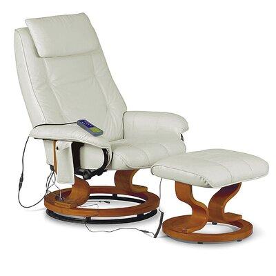 Heartlands Furniture Aston Massage Recliner and Footstool