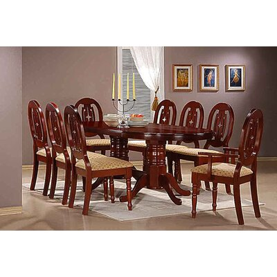 Heartlands Furniture Moscow Dining Table and 8 Chairs