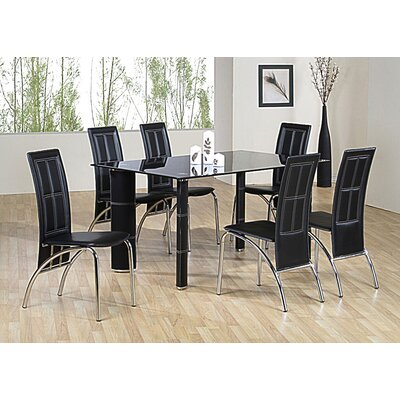 Heartlands Furniture Worcester Dining Table and 6 Chairs