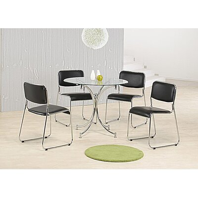 Heartlands Furniture Orkney Dining Table and 4 Chairs