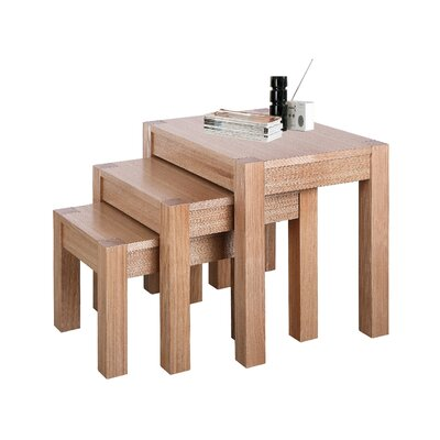 Heartlands Furniture Cyprus 3 Piece Nest of Tables