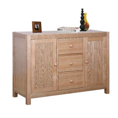 Heartlands Furniture Cyprus 2 Door 3 Drawer Sideboard