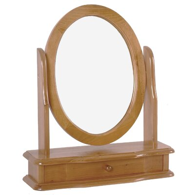 Heartlands Furniture Skagen Oval Dressing Table Mirror